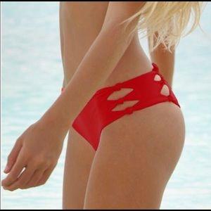 Mikoh Swimwear Hanalei Knot Detail Bikini Bottom